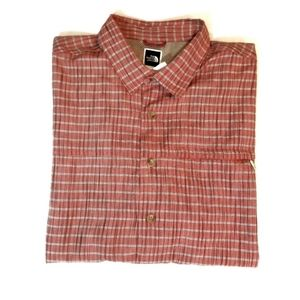 {The North Face} Mens Button-Down Shirt